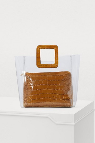 STAUD Shirley handbag clear - This year, the California lifestyle is coming to Paris....