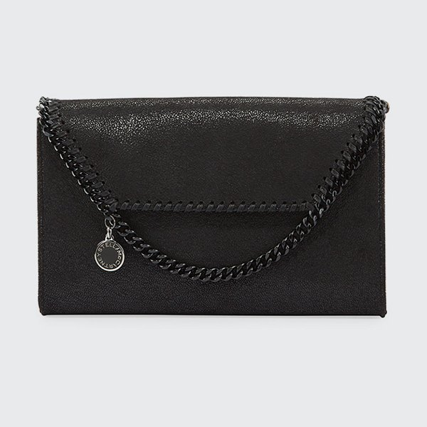 Stella McCartney Falabella Mini Crossbody Bag in black