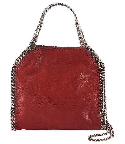 Stella McCartney Falabella Mini Tote Bag in ruby