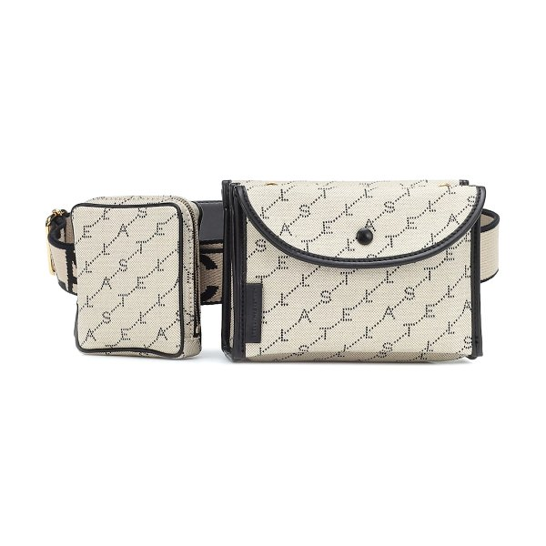 Stella McCartney logo belt bag in multicoloured - Open up a world of styling possibilities with this...