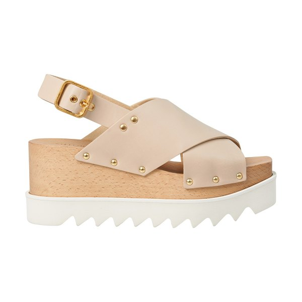 Stella McCartney Percy sandals in 9703 naturelle