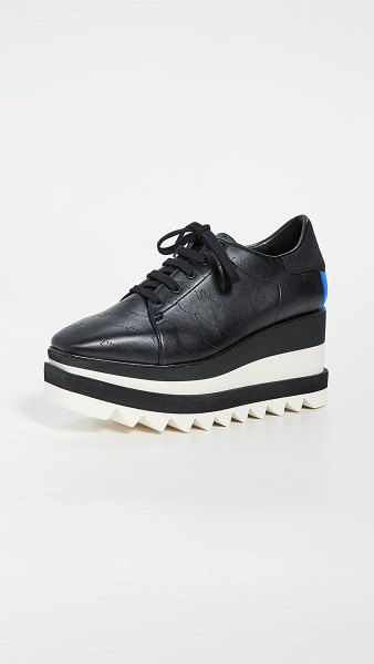 Stella McCartney sneakelyse lace up shoes in black