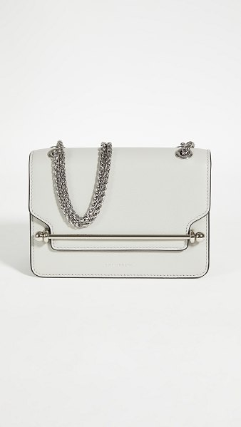 STRATHBERRY east/west mini bag in pearl grey