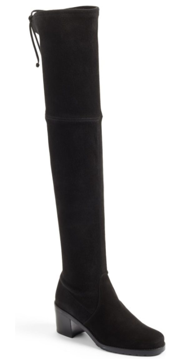 2be0f6894df Stuart Weitzman Elevated Over The Knee Boot in Black