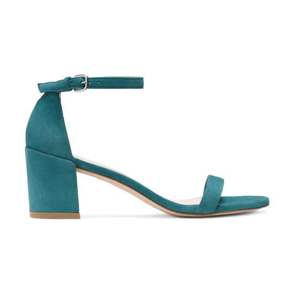 STUART WEITZMAN Simple - The SIMPLE single-sole sandals make a bold statement...