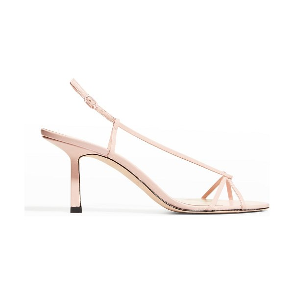 STUDIO AMELIA Entwined 70mm Heeled Sandals in rose