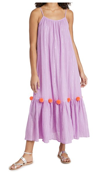 SUNDRESS clea summer dress in pacific lavender/fuchsia