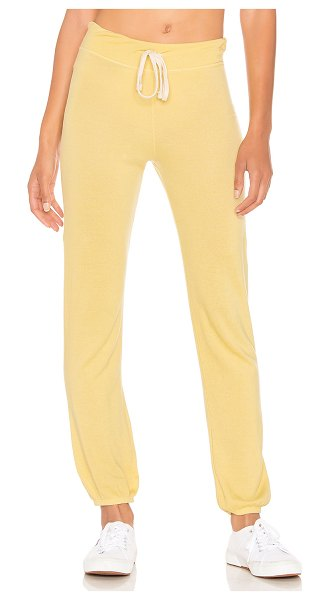 Sundry Basic Sweatpant in yellow