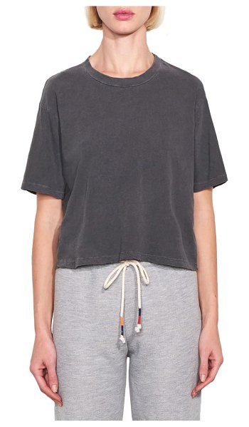 Sundry boxy tee in pigment charcoal