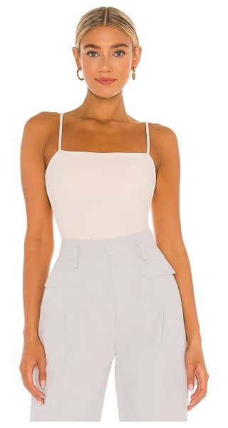 Susana Monaco thin strap top in blanched almond