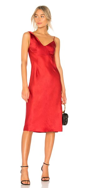 34dcc4d17156 T by Alexander Wang Wash & Go Slip Dress in Red | Shopstasy