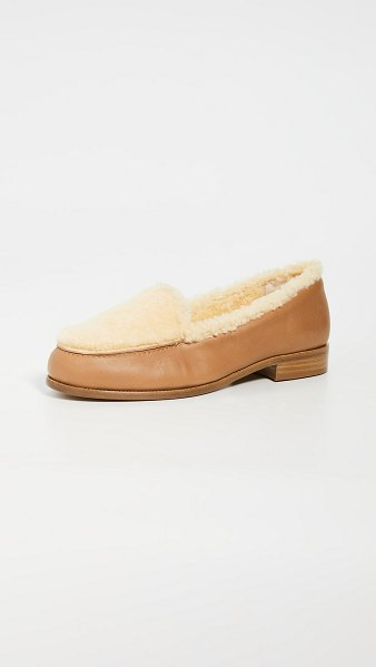 Tabitha Simmons blakie loafers in natural
