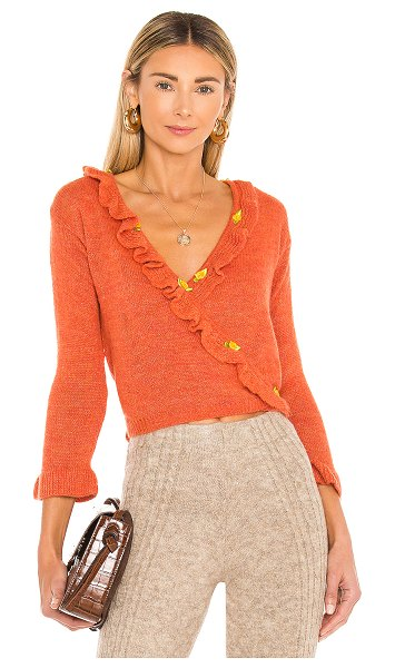 Tach Clothing olivia knit in orange