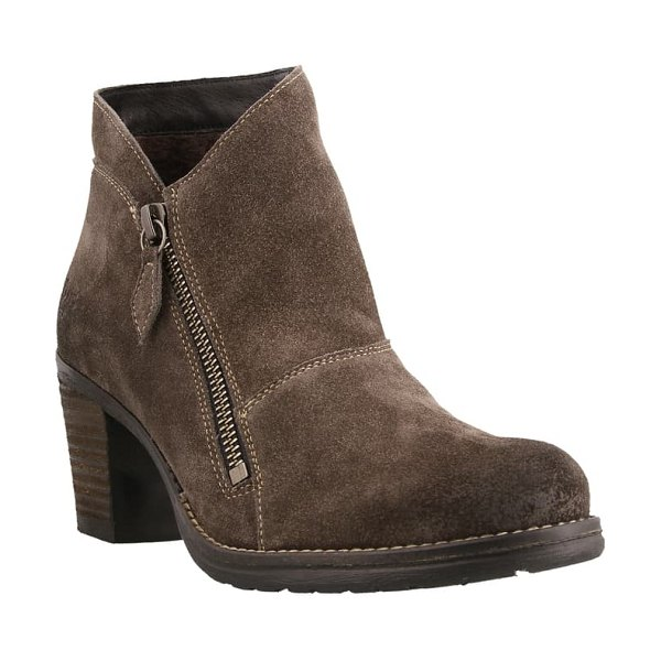 Taos billie bootie in grey leather