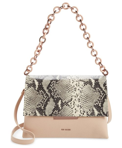 Ted Baker abiagal shoulder bag in taupe