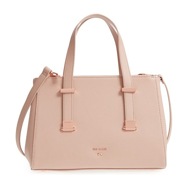 Ted Baker audreyy small adjustable handle leather shopper in women~~bags~~handbag - Adjustable magnetic carry handles can be extended from...