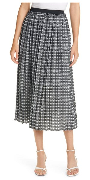 Ted Baker coliin pleated skirt in black
