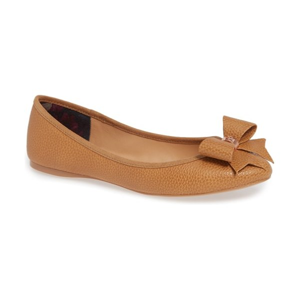 Ted Baker sually flat in tan