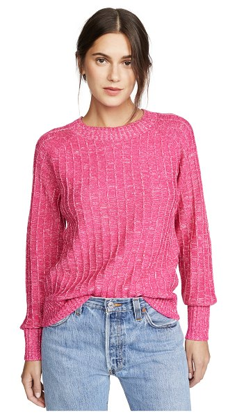 The Fifth Label electricity knit sweater in pink marle