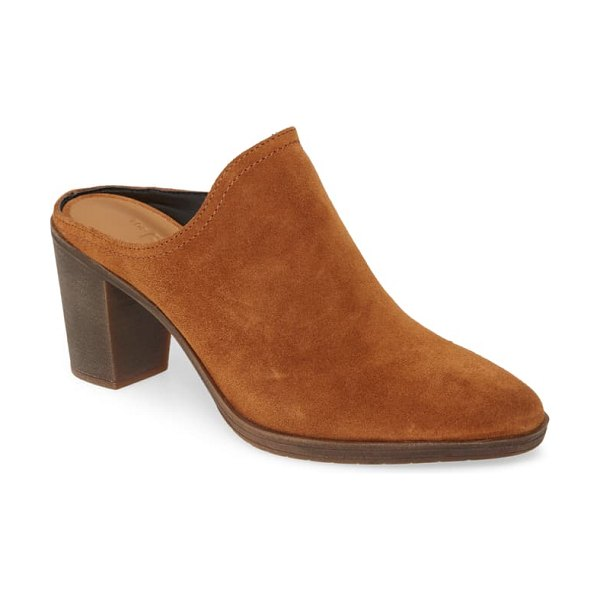THE FLEXX rock me mule in cognac suede