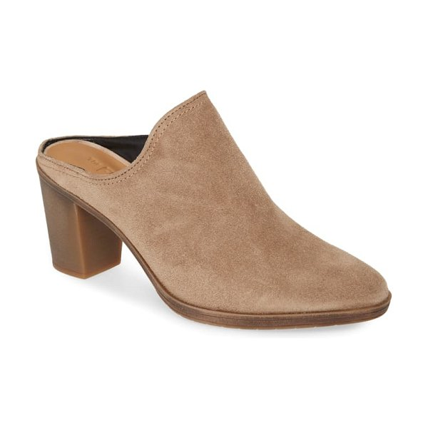 THE FLEXX rock me mule in peanut suede