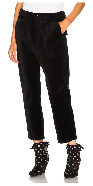 The Great Convertible Trouser Pant in black - 100% cotton.  Made in China.  Dry clean only.  Button...