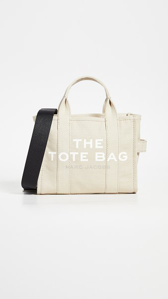 The Marc Jacobs mini traveler tote in beige