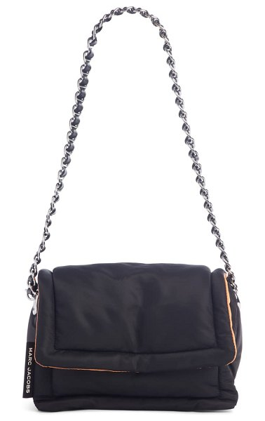 The Marc Jacobs the nylon pillow shoulder bag in black