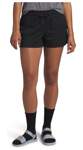 The North Face aphrodite motion water repellent shorts in black