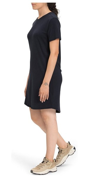 The North Face best tee ever t-shirt dress in aviator navy