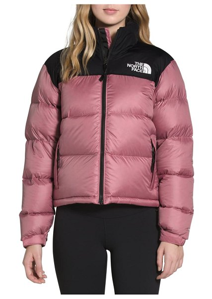 The North Face nuptse 1996 packable quilted down jacket in mesa rose