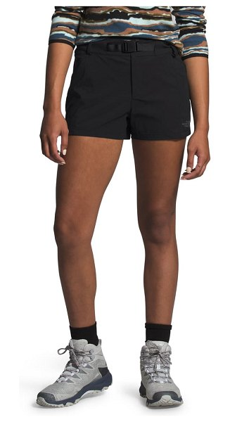 The North Face paramount active water repellent shorts in black