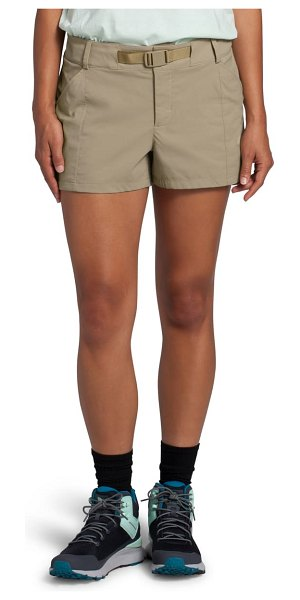 The North Face paramount active water repellent shorts in twill beige