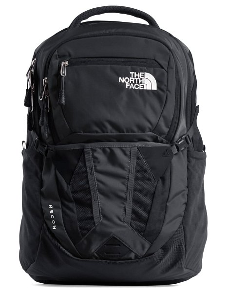 The North Face recon backpack in tnf black