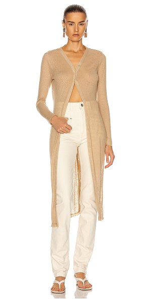 The Range summer duster in beach