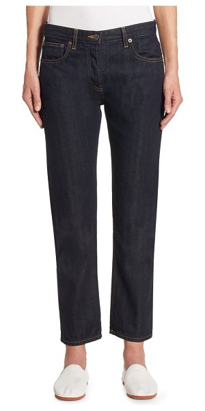 THE ROW ashland cropped jeans - Streamline denim cut for ankle length. Belt loops. Zip fly...