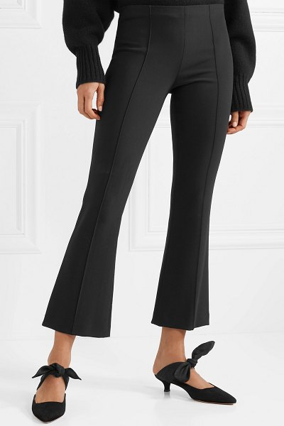 THE ROW beca cady flared pants in black