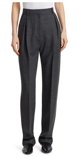 THE ROW Brina Silk Pants in grey