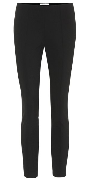 THE ROW cosso cotton-blend pants in black