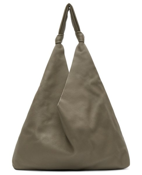 THE ROW grey bindle two tote in psshg pale