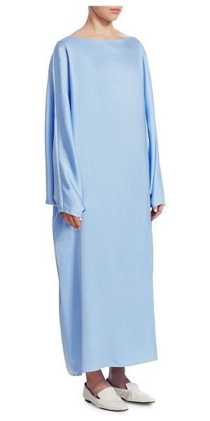 THE ROW Impey Silk Dress in baby blue