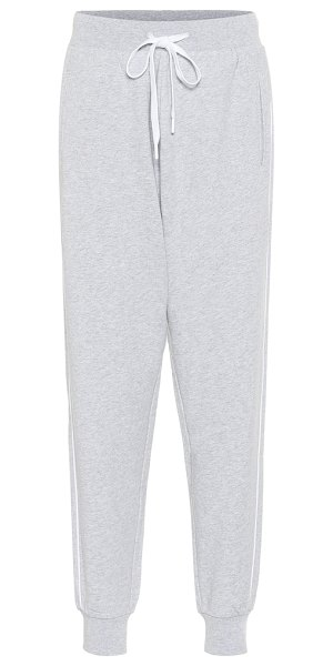 THE UPSIDE one love cotton trackpants in grey