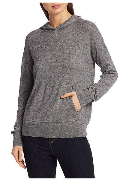Theory Aria Hoodie Sweater in cloud