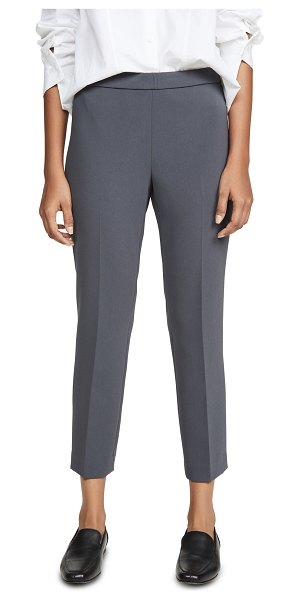 Theory basic pull on pants in deep slate