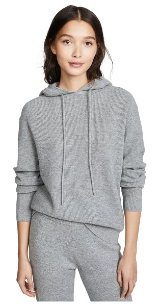 Theory cashmere hoodie in husky