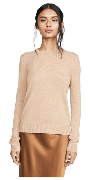 Theory cashmere pullover in camel