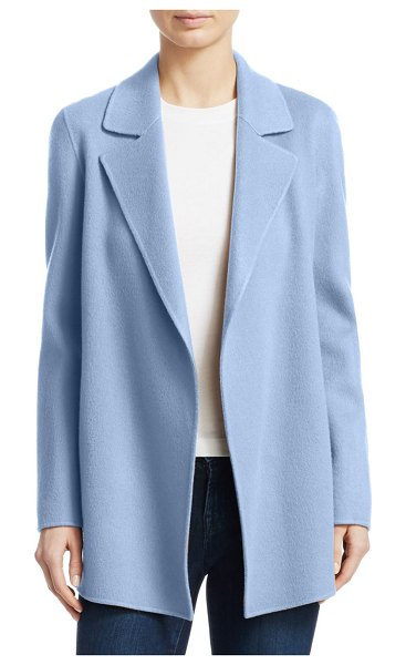 Theory Clairene Wool & Cashmere Jacket in butter cream