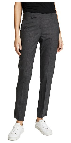 Theory edition four testra 2b pants in charcoal