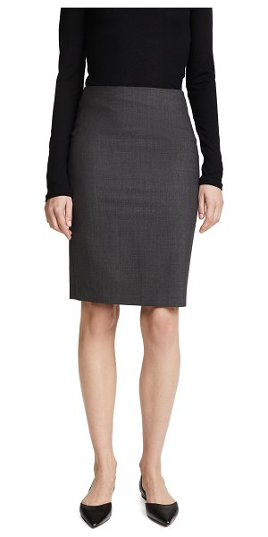 Theory edition pencil skirt in charcoal