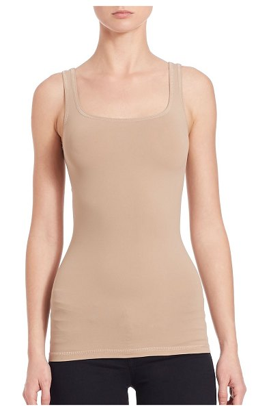 Theory len tubular stretch jersey tank top in black,nude,white